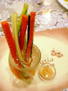 瑪利亞咖啡書屋-簡餐-附餐-[蔬菜棒沙拉]