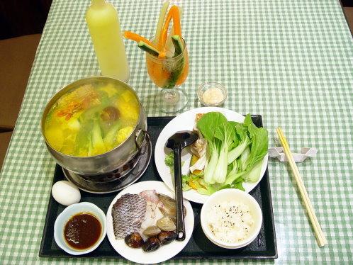 海鮮南瓜火鍋 (Seafood Squash Pot)
