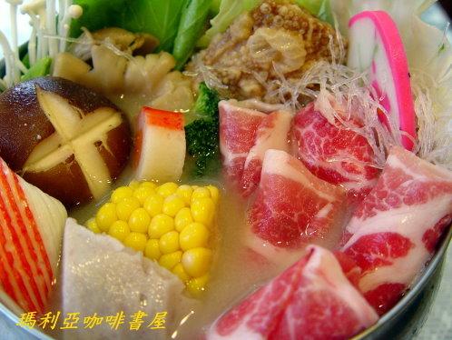 豬肉日式味增火鍋 (Pork Miso Pot)