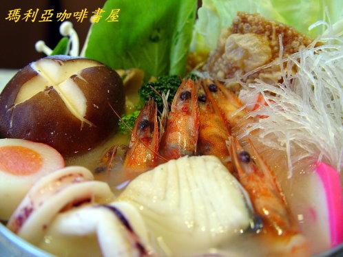 海鮮日式味增火鍋 (Seafood Miso Pot)
