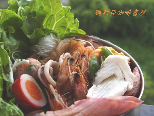 海鮮韓式泡菜火鍋 (Seafood Korea Spicy Pot)