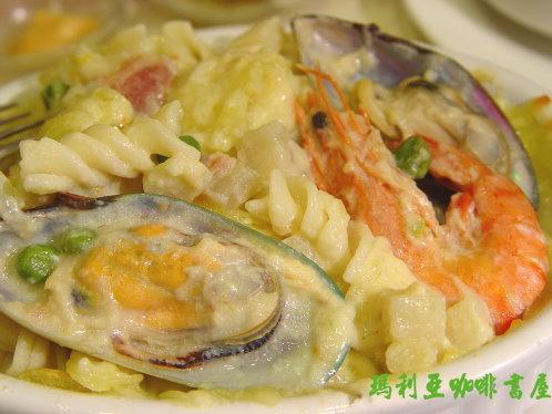 法式海鮮焗烤麵 (French Seafood Spaghetti Parta)