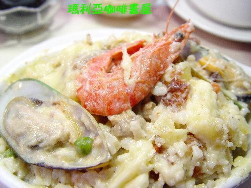 法式海鮮焗烤飯 (French Seafood Spaghetti Rice)