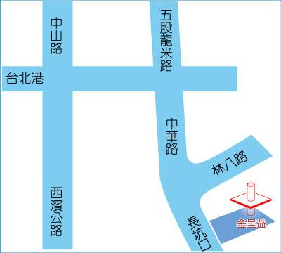 金呈益台北公司地圖